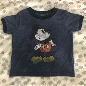 ❤️ Mickey Mouse vintage tee- navy ❤️
